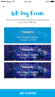 WE Day Events