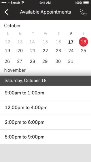 Schedule - Calendar